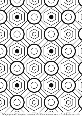 colorear patrones geometricos