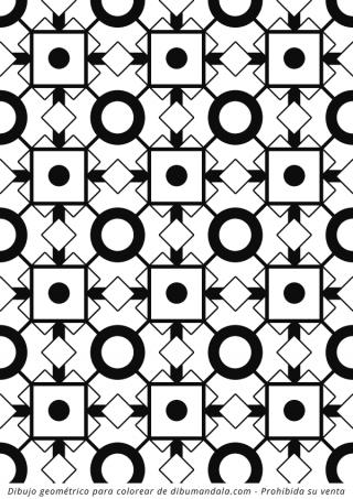 patron geometrico